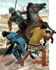 conquistador-on-horse-fighting-two-incas